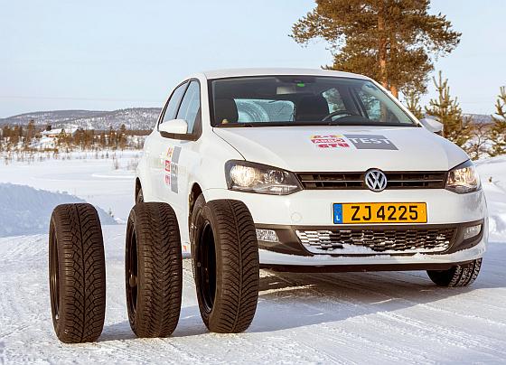 GTÜ und ACE liessen vier verschiedene Reifentypen gegeneinander antreten - das Ergbnis überrascht nicht wirklich... (Foto: GTÜ)