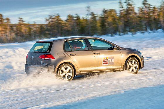 Der Winterreifentest 2014 fand auf dem Nokian Testgelände in Finnland statt (Foto: Tschovikow/GTÜ)