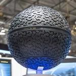 Goodyear Eagle-360: Visionärer Konzeptreifen in Kugelform für autonome Fahrzeuge der Zukunft