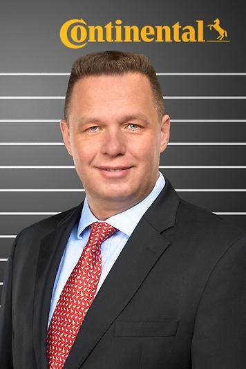 Lars Fahrenbach berichtet als Leiter ContiTrade in der Region Deutschland, Österreich und Schweiz künftig an Jürgen Marth. (Foto: Continental)